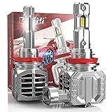 Lampadine H11 LED, OUSHI Canbus Senza Errori 110W 20000 LM Kit Di Conversione Per Fari a LED H8 H9 LED 6500K Xenon Bianche, H8 LED Lampadina Fari Abbaglianti o Anabbaglianti Per Auto, Confezione Da 2