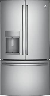 GE Profile Series Energy Star Stainless Steel 22.2 cu.ft. French-Door Refrirator with Hands-Free Autofill
