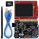 N\A For Arduino - los Productos Que con Trabajo Juntas Oficiales, 2.2 Pulgadas TFT LCD módulo de visualización de la Pantalla táctil + Escudo UNO R3 de Kit con TF Tarjeta Pen