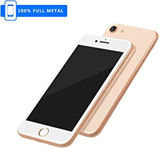 3rd Generation [Full Metal] Fake Dummy Display Compatible with Apple iPhone [Non-Working] 1:1 Scale Phone 8/8Plus 4.7/5.5 inch (Gold 4.7)
