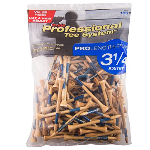 Pride Professional Tee System, 3-1/4 inch ProLength Plus Tee