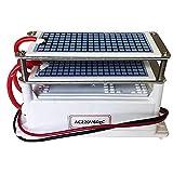 Generatore di Ozono 220 V 60G / H Piastre in Ceramica Integrate Portatile da (Due Strati) Adatte per Ozonizzatore d'aria, Purificatore d'aria, Sanificatore Ambienti
