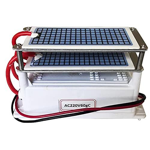 ATWFS Generador de ozono ionizador, Placas Cerámicas Integradas Adecuadas para Esterilizador de Aire Purificador de Aire, Ozonizador
