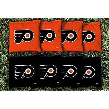 Victory Tailgate 8 Philadelphia Flyers NHL Cornhole Game Bag Set (8 Bags Included, Corn-Filled)