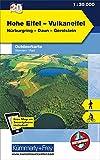 Hohe Eifel - Vulkaneifel Outdoorkarte Deutschland Nr. 20: 1:35 000, Mit kostenlosem Download für Smartphone (Kümmerly+Frey Outdoorkarten Deutschland)