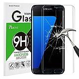 Rusee Galaxy S7 Edge Panzerglas Schutzfolie, 9H Festigkeitgrad 3D HD Ultra Klar Anti-Kratzer Panzerglasfolie Hartglas Gehärtetem Glas Bildschirmschutzfolie Bildschirmschutz für Samsung Galaxy S7 Edge