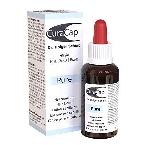 CuraCap Wechseljahre Haarserum von Dr. Holger Scheib   Haar Vitamin Haarwasser für die Frau   In der Menopause oder Schwangerschaft & bei Haarausfall durch Extensions   Frauen Haarvitamine   Pure