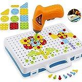 Yxaomite Elektrische Bohrmaschine Puzzle Spielzeug Zerlegen Schraubenmutter Montage Kombination Creative Bau Toy Set Kinder Spaß Spielzeug Geschenk