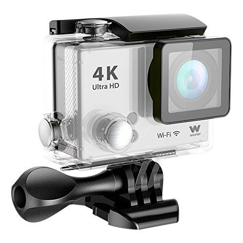 Woxter Sportcam 4K - Cámara deportiva (action cam, accesorios incluidos) color plata