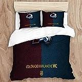 Wincosnd EILANNA Duvet Cover Set,Colorado Ava-LAN-Che (14) Decorative 3 Piece Bedding Set with 2 Pillow Shams, King Size