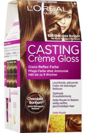 L'Oréal Casting Creme Gloss Coloration Chocolate Bonbon 6.35, 1 St (1er Pack)