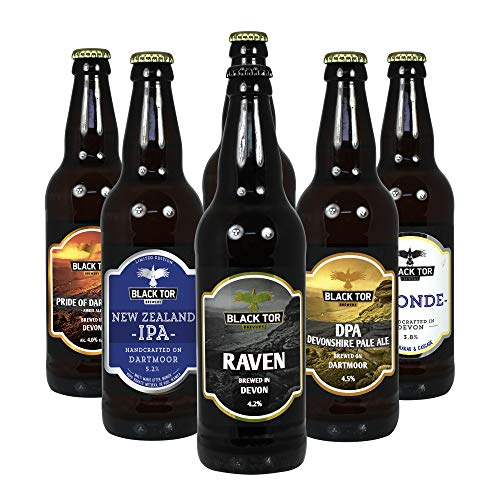 Black Tor Brewery Discover Introductory Craft Beer Mixed Selection Case x 6 Bottles. Perfect Valentines Day Gift