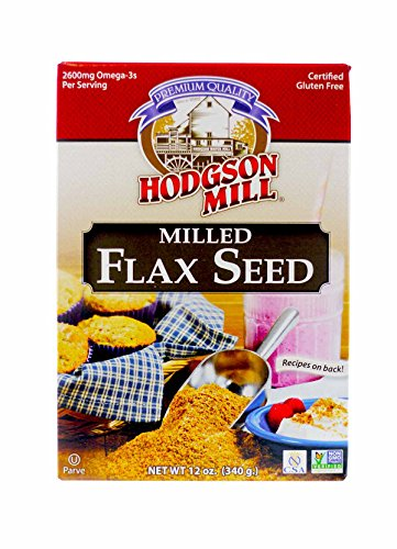 Hodgson Mill Milled Flax Seed, 12-Ounce (Pack of 8)