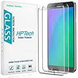 2-Pack HPTech Tempered Glass For Samsung Galaxy Note 3 Screen Protector, Easy to Install, Bubble Free, 9H Hardness