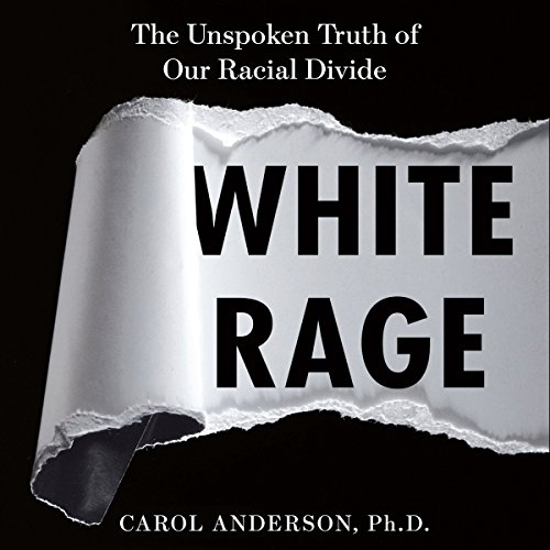 White Rage audiobook cover art