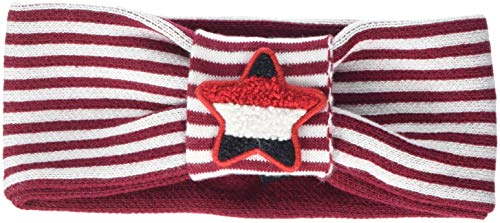 Tommy Hilfiger Logo Headband Bandeau, Rouge (Rumba Red/White 902), Medium (Taille Fabricant: S-M) Femme