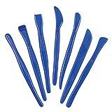 Baker Ross - Herramientas De Plástico Para Moldear - Perfectas Para Usar En Arcilla (Pack De 14)