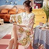 Tallas Grandes M-4XL Verano Mujer Corto para Mujer Ropa de Dormir...