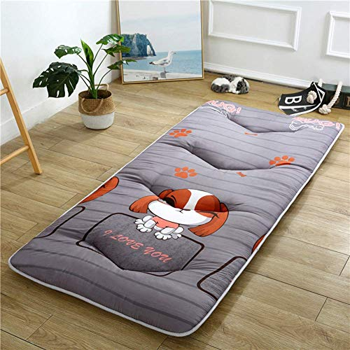 Tatami - Colchón antideslizante plegable para cama de matrimonio o dormitorio, para salón, alfombrilla de yoga, universal, cuatro estaciones, 150 x 200 cm