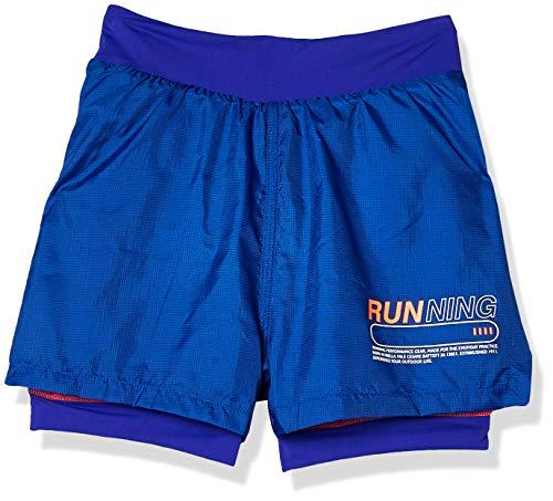Shorts Run Gear, Fila, Feminino, Royal, P