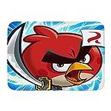 cwling00 Bath Mat,Angry-Birds (2)~1,Plush Bathroom Decor Mat with Non Slip Backing, 29.5' X 17.5'