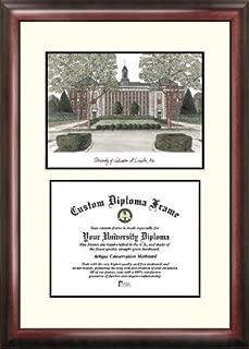 Campus Images NE999V University of Nebraska Scholar Diploma Frame, 8.5
