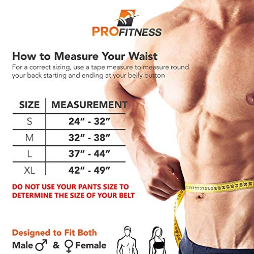 profitness genuine leather tapered workout - profitness genuine leather tapered workout