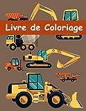Livre de Coloriage: Engins de Chantier / Véhicules de Construction   Livre de coloriage pour enfants Âge 2-4 Ans