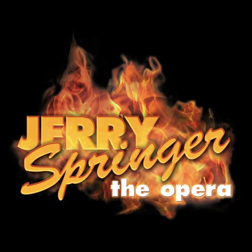 Jerry Springer audiobook cover art