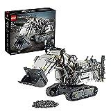 LEGO Technic EscavatoreLiebherrR9800, Set di Costruzioni Avanzato Controllato con App,Motori Interattivi e Connessione Bluetooth, 42100