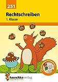 Rechtschreiben 1. Klasse, A5- Heft (Deutsch: Rechtschreiben und Diktate, Band 251)