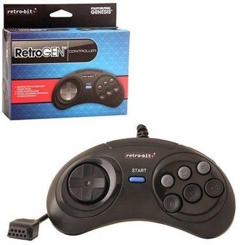 Retro-bit Ranking TOP19 Sega Retro Genesis Pad Controller Charlotte Mall
