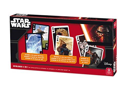 ASS Altenburger 22501506 - Star Wars - 3 in 1 Spielebox