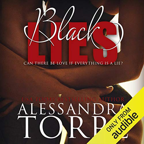 Black Lies audiobook cover art