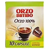 OrzoBimbo Capsule SOLO ORZO 100% - Compatibili con macchine Nespresso ® - confezione da 10 capsule monodose