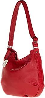bruno rossi leather handbag