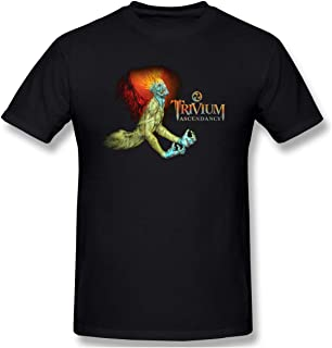 Men Ascendancy Trivium Suitable T-Shirt Black
