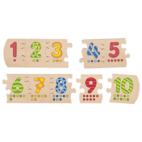 Gollnest & Kiesel Goki 57012 - Puzzle con los números del 1 al 10
