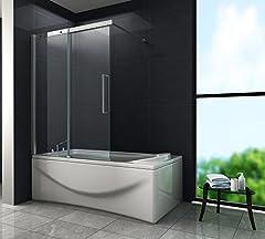 Schiebetür-Duschtrennwand DOZE 120 x 150