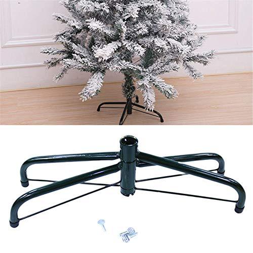 RecoverLOVE Künstlicher Christbaumständer für 3 bis 6-Fuß-Bäume Klappbarer Christbaumständer aus Metall mit Montagezubehör 30 cm / 50 cm, künstlicher Christbaumständer
