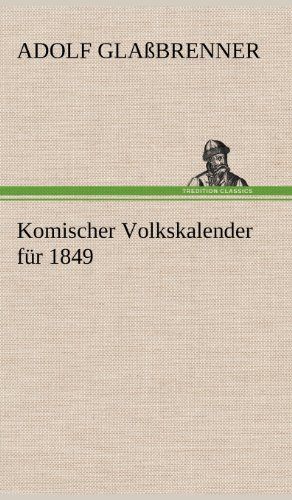 Komischer Volkskalender für 1849
