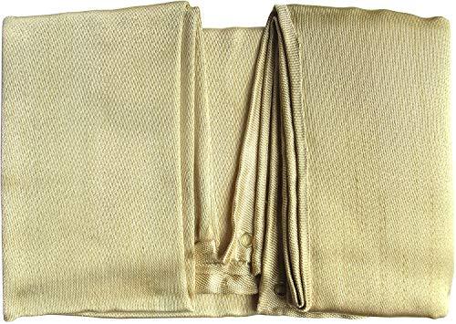 Manta de soldadura de fibra de vidrio resistente, manta ignífuga, manta de emergencia contra incendios utilizada para la protección de soldadura y supervivencia de emergencia de incendio. (1.5 x 1.5)