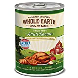 Whole Earth Farms Grain Free All Breed Wet Dog Food Adult (12) 12.7 oz Cans