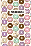 Notebook: Doughnuts - 120 lined pages (6' x 9')