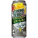 ストロングゼロ -196℃ ストロングゼロ ビターレモン 500ml 24缶