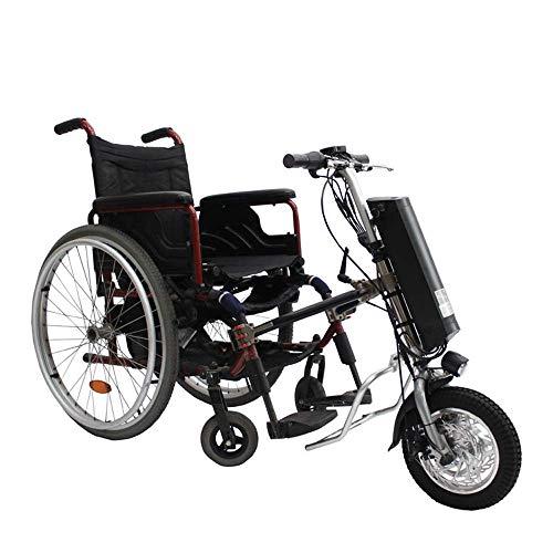 GYPPG 36V 250W Elektrorollstuhl Traktor Handrad Handbike DIY Elektrorollstuhl Umrüstsätze mit 36V 9Ah Batterie 12inch
