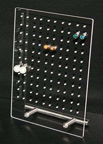 sabro-design Ohrringständer Schmuckständer Ohrstecker Nr.1 transparent