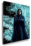 Alan Rickman - Severus Snape / Harry Potter Leinwandbild