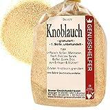 Knoblauchgranulat 100 Gramm granuliert, Knoblauchpulver, ohne Zusatzstoffe & ohne Geschmacksverstärker - Bremer Gewürzhandel