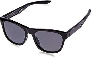 Puma Men's PU0170S PU0170S-001 54 Polarized Wayfarer Sunglasses, Black, 54 mm